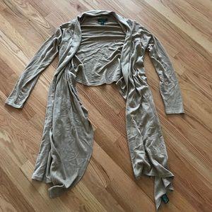 Ralph Lauren tan shawl